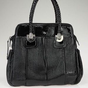 CHLOE Heloise Large Patent Tote